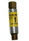 Suha varovalka za acetilen SV-6/2,  montaža na strojni rezalnik