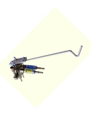 Varčevalni ventil z suhima varovalkama